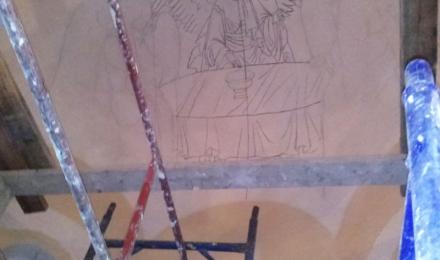 Эскизы росписи храма