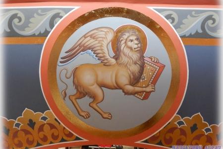 Барабан храма: символы