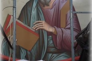 Храм Казанской иконы Божией Матери: образы евангелистов