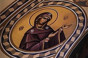 Пресв. Богородица. Иконописная мастерская Палехский Образ