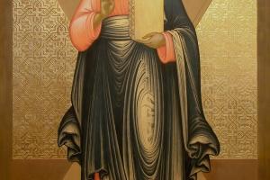 Андрей Первозванный (этап работы над иконой)
