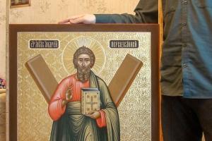 Андрей Первозванный (готовая икона)