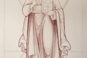 Андрей Первозванный (рисунок)