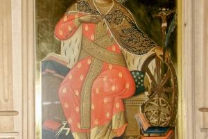 Св. Екатерина (фрагмент иконы)