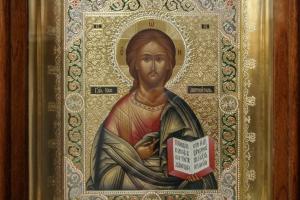 Господь Вседержитель (в раме и окладе)