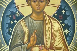 Образ Богородицы Знамение (фрагмент)