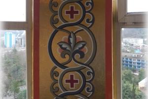 Храм в Дагомысе: орнаменты