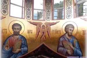 Мастерская Палехский образ: роспись храма в Дагомысе